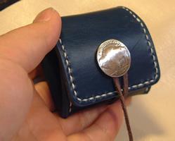 自分で作る革小物 コインケース