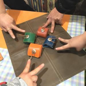 小淵沢 革小物体験 コインケース